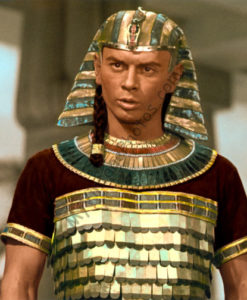 Yul Brynner, The Ten Commandments 1956